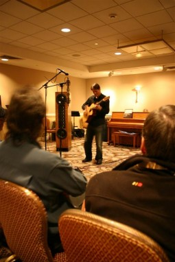 Pro guitarist Austin Weyand, THE Show 2010