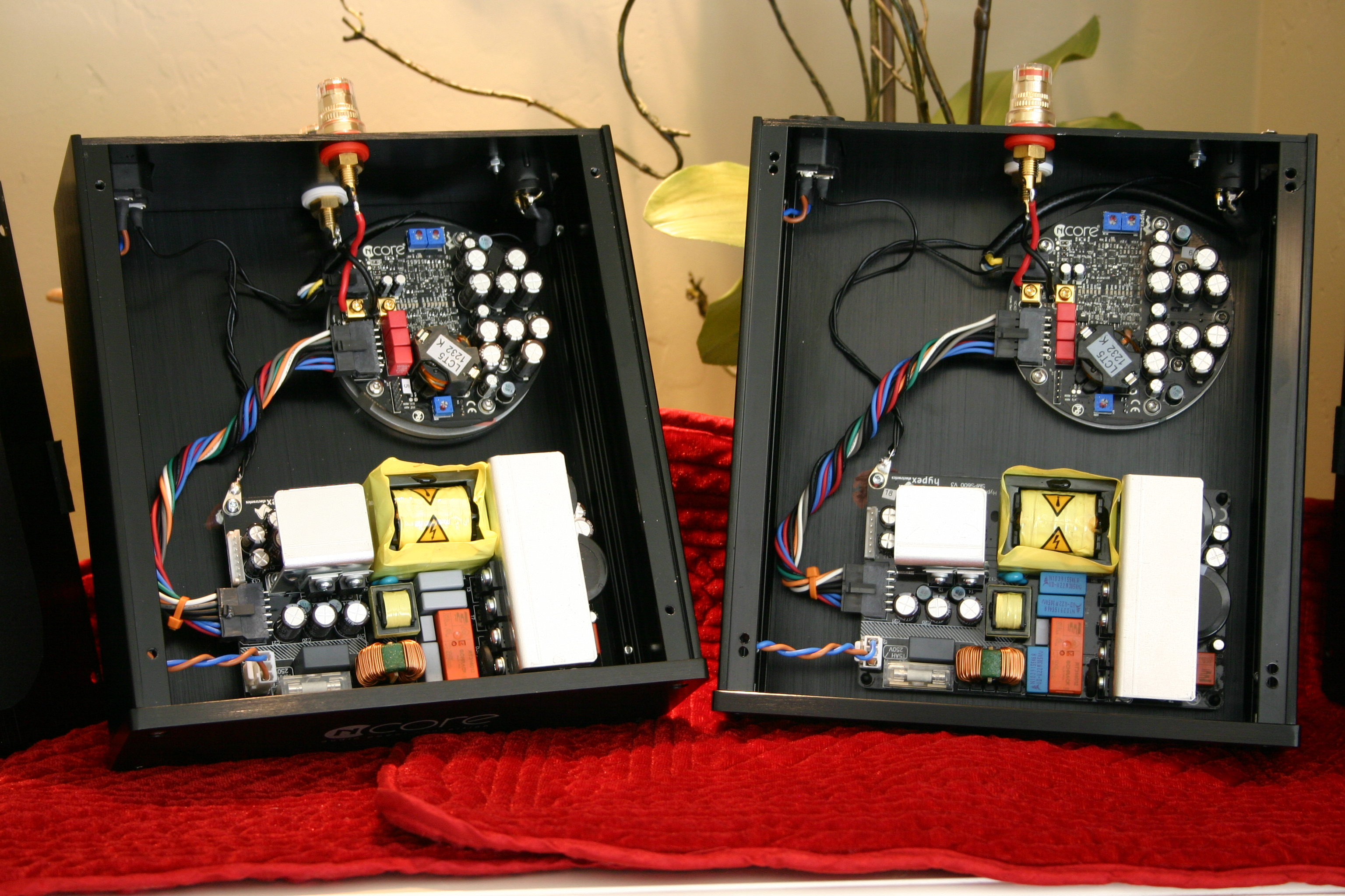 Hypex Ncore Nc400 Build Service Stereo Mono Bridged James Wiring An Amp Speaker Cable Series Resistance